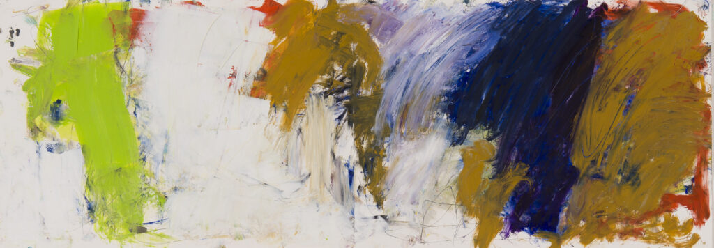 Zeichnung, 2020 Doppelseite, 100 x 35 cm, Öl, Buntstifte